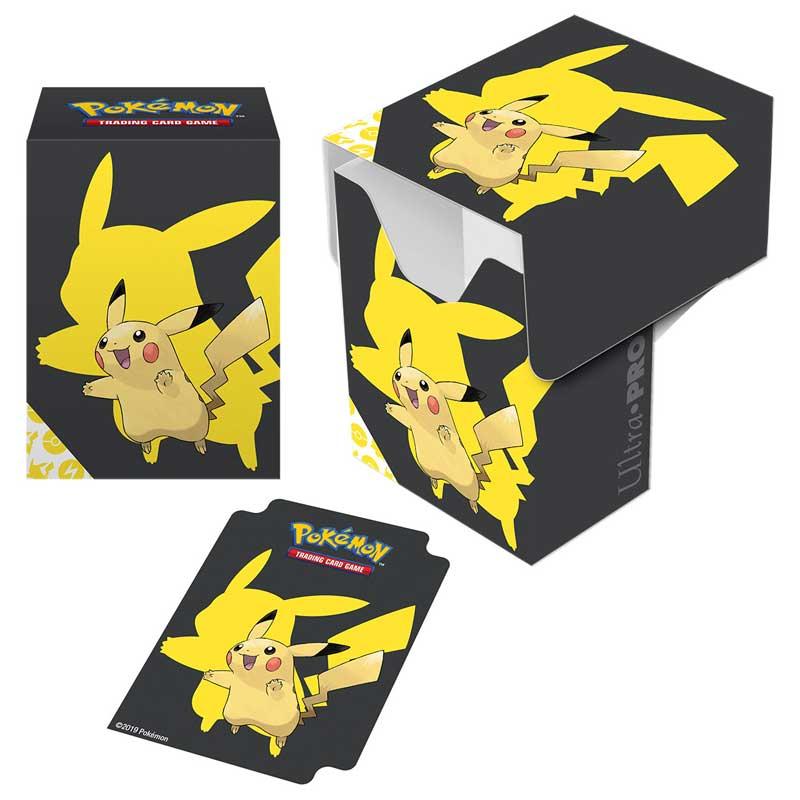 Pokémon Deck Box, Ultra Pro, Pikachu 2019 (Med plats för ca 80 kort i sleeves)