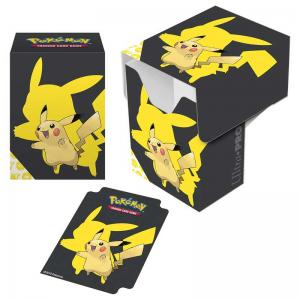 Pokémon Deck Box, Ultra Pro, Pikachu 2019 (With room for 80 sleeved cards)