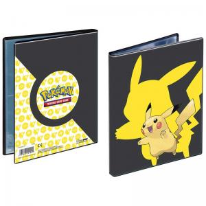 Pokemon, Portfoliopärm A5 (Rymmer 40 kort) Pikachu 2019 - 4 Pocket