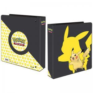 Pokemon, pärm för lösa plastfickor - 3 ringspärm - Pikachu 2019