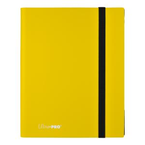 9-Pocket Eclipse Lemon Yellow PRO-Binder