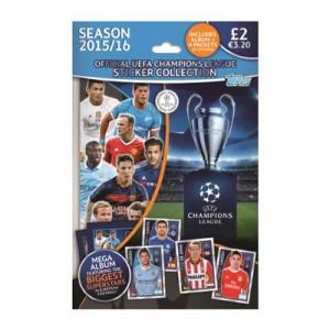 Starter Topps Stickers Champions Leauge 2015-16