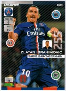 2015-16 Panini Ligue 1 Champion, Zlatan Ibrahimovic