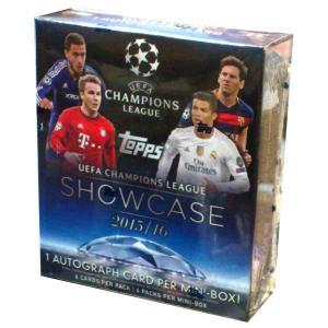 Hel Mini Box 2015-16 Topps Showcase Champions League