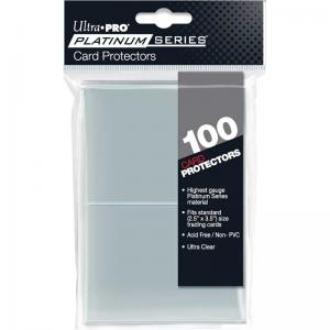 "Platinum Series Card Protectors 2-1/2"" X 3-1/2"" (100 sleeves) (For regular trading cards)"