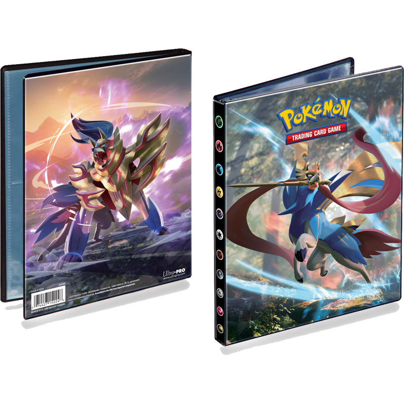 Pokémon, Sword & Shield, Portfolio binder A5 - 4 Pocket