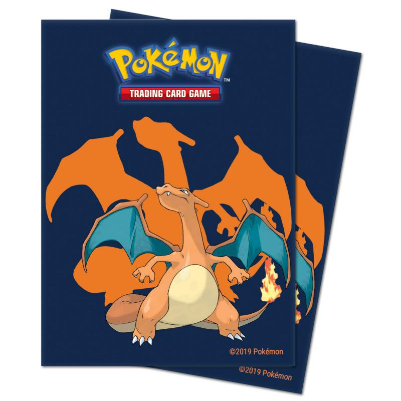 Pokémon, Deck Protector Sleeves Ultra Pro, Charizard 2020 - 65st