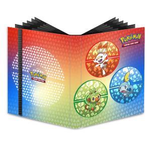 Pokémon, Pro Binder, Sword and Shield Galar Starters - 9 Pocket