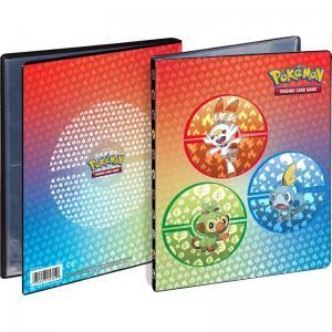 Pokémon, Sword and Shield Galar Starters, Portfoliopärm A5 - 4 Pocket