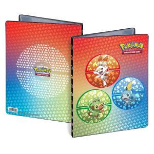 Pokémon, Sword and Shield Galar Starters, Portfoliopärm A4 - 9 Pocket
