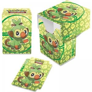 Pokémon Deck Box, Ultra Pro, Grookey (With room for 80 sleeved cards)