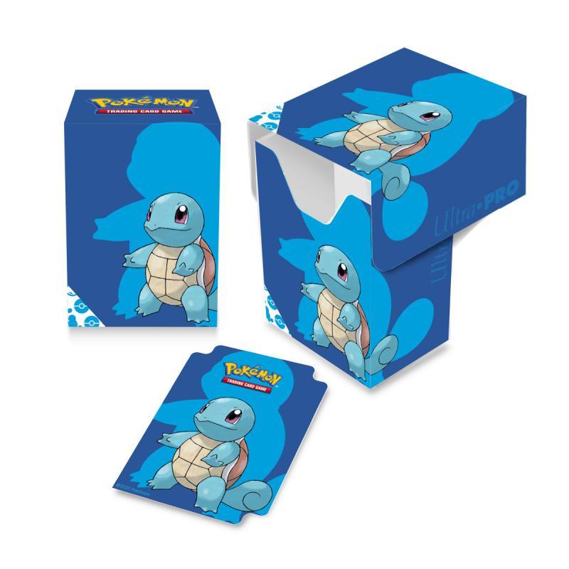 Pokémon Deck Box, Ultra Pro, Squirtle (Med plats för ca 80 kort i sleeves)