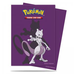 Pokémon, Deck Protector Sleeves Ultra Pro, Mewtwo - 65st