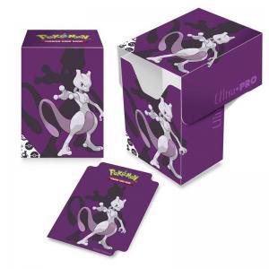 Pokémon Deck Box, Ultra Pro, Mewtwo (Med plats för ca 80 kort i sleeves)