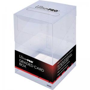 Plastic Graded Card Box, Ultra Pro