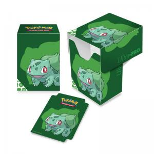 Pokémon Deck Box, Ultra Pro, Bulbasaur (Med plats för ca 80 kort i sleeves)