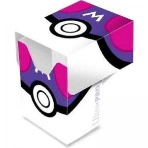Pokémon Deck Box, Ultra Pro, Master Ball (Med plats för ca 80 kort i sleeves)