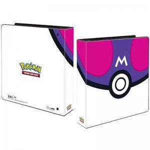 Pokemon, pärm för lösa plastfickor - 3 ringspärm - Master Ball