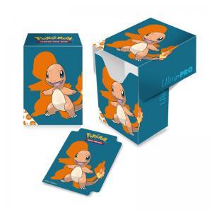 Pokémon Deck Box, Ultra Pro, Charmander (Med plats för ca 80 kort i sleeves)