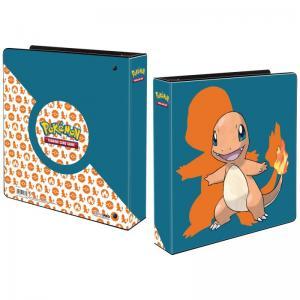 Pokemon, pärm för lösa plastfickor - 3 ringspärm -Charmander