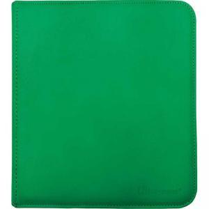 12-Pocket Zippered PRO-Binder - Green