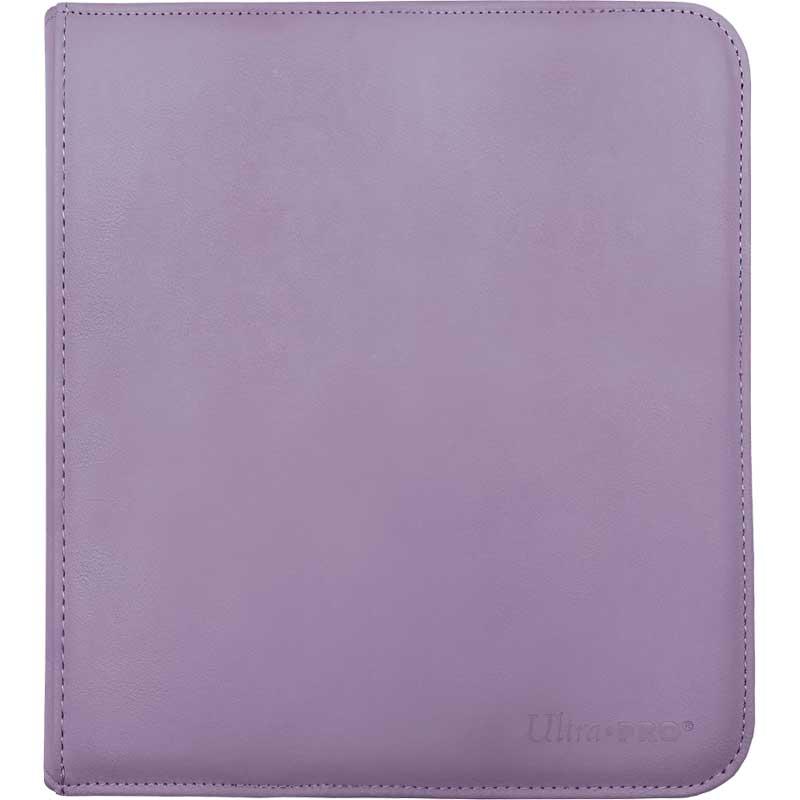 12-Pocket Zippered PRO-Binder - Purple