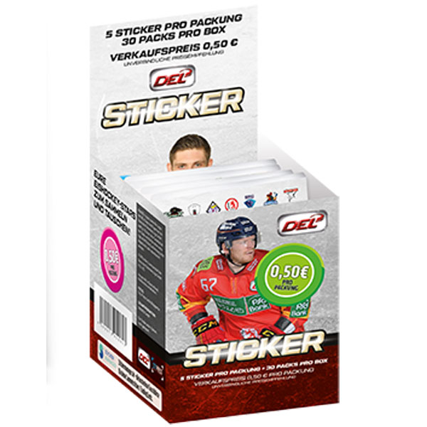Sealed Box 2016-17 DEL Stickers (Not cards)