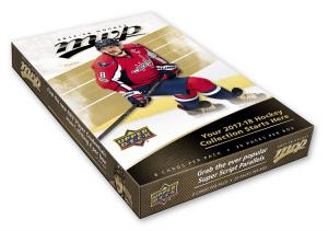 Sealed Box 2017-18 Upper Deck MVP Hobby
