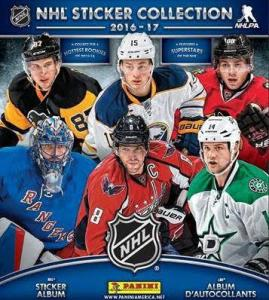 Hel Box 2016-17 Panini Stickers NHL