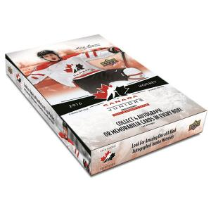 Sealed Box 2016-17 UD Team Canada Juniors