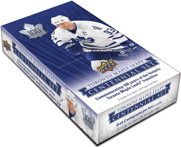 Hel Box 2017-18 UD Toronto Maple Leaf Centennial Hobby