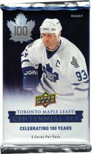 1st Paket 2017-18 UD Toronto Maple Leaf Centennial Hobby