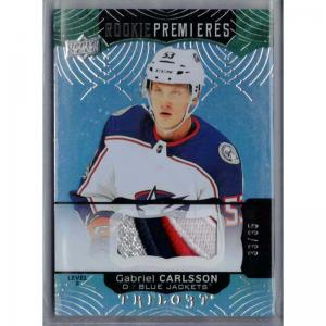 Gabriel Carlsson 2017-18 Upper Deck Trilogy Green #94 Patch /35