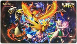 Pokémon, Spelmatta från Hidden Fates Ultra-Premium Collection (Endast spelmatta)