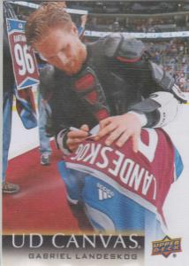 Gabriel Landeskog - 2018-19 Upper Deck Canvas #C21