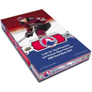 Sealed Box 2017-18 Upper Deck AHL