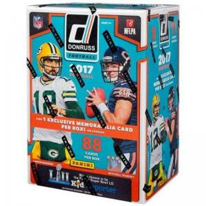 Incoming: Sealed Blaster Box 2017 Panini Donruss Football (Preliminary arrival March 28:th)