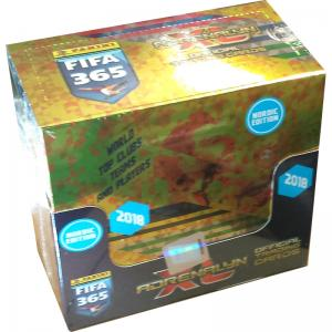 1 Box (50 Packs) Nordic Edition Panini Adrenalyn XL FIFA 365 2017-18