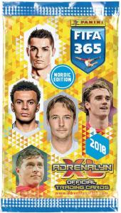 1 Pack Nordic Edition Panini Adrenalyn XL FIFA 365 2017-18