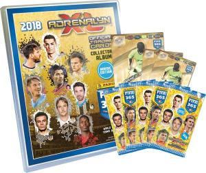 1st Mega Starter Pack Nordic Edition Panini Adrenalyn XL FIFA 365 2017-18