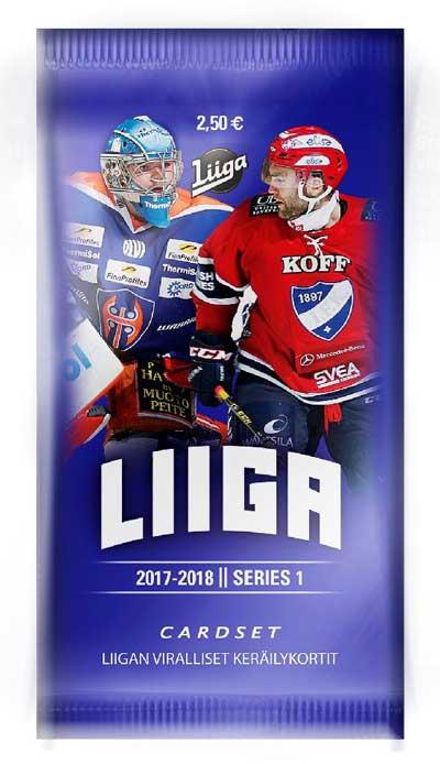 1 Pack 2017-18 Finnish Liiga s.1