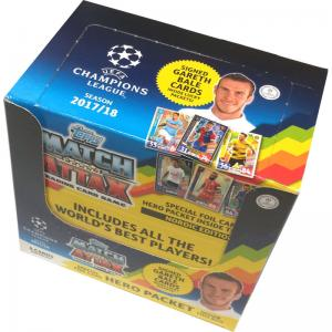 Sealed Box (50 packs) 2017-18 Topps Match Attax Champions League (Nordic Edition)