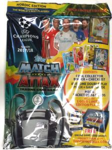 Starter Pack 2017-18 Topps Match Attax Champions League (Nordic Edition)