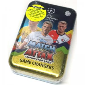 Mega Tin 2017-18 Topps Match Attax Champions League - Game Changers (Nordic Edition)
