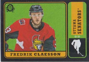 Fredrik Claesson - 2018-19 O-Pee-Chee Retro Black #477 /100