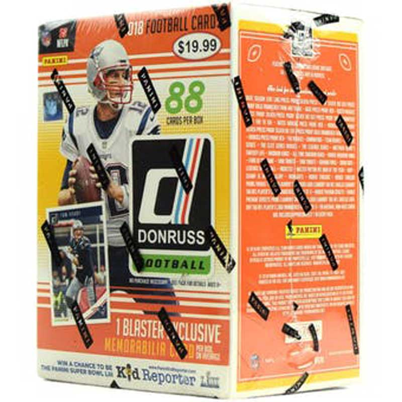 Sealed Blaster Box 2018 Panini Donruss Football