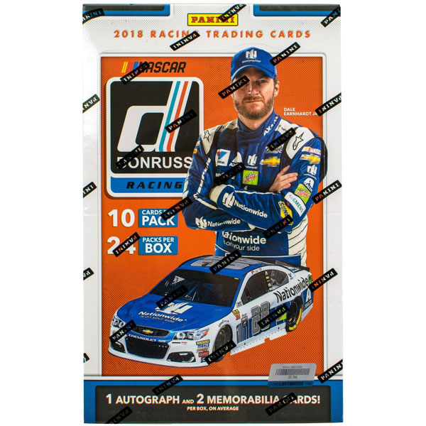 Hel Box 2018 Panini Donruss Racing Hobby (Nascar)