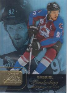 Gabriel Landeskog - 2015-16 Fleer Showcase Flair #23