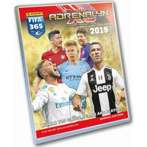 Binder Nordic Edition Panini Adrenalyn XL FIFA 365 2018-19