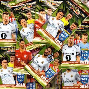 50st Paket Nordic Edition Panini Adrenalyn XL FIFA 365 2018-19